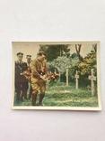 Цветной вкладыш Адольф Траурная церемония Рейх               1933-37 год, фото №2