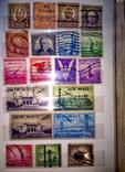 Альбом с  более 50 старых марками США. Президенты., фото №6