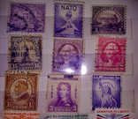Альбом с  более 50 старых марками США. Президенты., фото №8