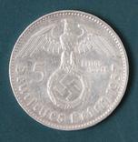 5 марок 1937(J), фото №2