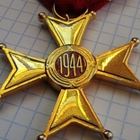 Орден Возрождения Польши. Polonia Restituta. 1944., фото №5
