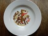 Тарелка (мальчик на лошадке), фото №2