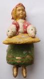 Ватная елочная игрушка из СССР, фото №2