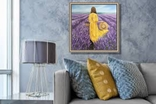 Картина, Лавандове нахнення, 50х50 см. Живопис на полотні, фото №7