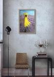 Картина, В жовтому на лавандовому, 60х40см. Живопис на полотні, фото №7