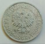 20 грошей 1969 г. Польша, фото №3