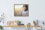 Картина, Стигле колосся, 60х50см. Живопис на полотні, фото №8