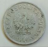 20 грошей 1949 г. Польша, фото №3