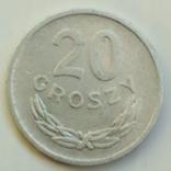 20 грошей 1972 г. Польша, фото №2