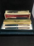 Перьевые и шариковые ручки времён СССР, фото №2
