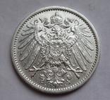 1 марка 1911 г. (А) Германия, серебро, фото №5