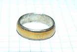 Кольцо с полимерной вставкой по периметру, фото №5