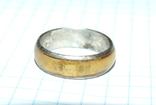 Кольцо с полимерной вставкой по периметру, фото №7