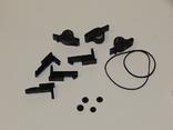 Прижимные ролики направляющие кассетным магнитофоном, фото №2