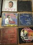Диски и коробки от дисков, 10 шт, фото №3