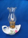 Миниатюрная керосиновая лампа. Европа лот 2, фото №5