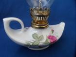 Миниатюрная керосиновая лампа. Европа лот 2, фото №6