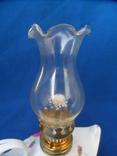 Миниатюрная керосиновая лампа. Европа лот 2, фото №7