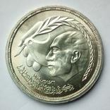 Египет 1 фунт 1980 г. - Мирный договор, фото №4