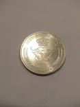 Дания 5 крон 1960 года серебро 17 грамм, 800 проба, фото №2