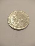 Мексика 100 песо 1977 серебро 27,77 грамм, 720 проба, фото №2
