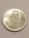 Мексика 100 песо 1977 серебро 27,77 грамм, 720 проба, фото №4