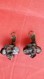 Кліпси зі скляними намистинами, фото №8