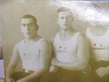 1940 Фото Моряки - борцы. Баку, Каспийская военная флотилия. Борьба, фото №4