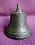Колокольчик поддужный №6 бронза ХІХв. - начало ХХ века., фото №5