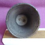 Колокольчик поддужный №6 бронза ХІХв. - начало ХХ века., фото №7