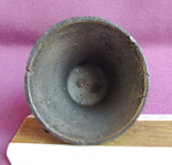 Колокольчик поддужный №6 бронза ХІХв. - начало ХХ века., фото №8