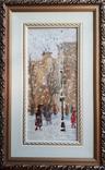 "Картина ""Снегопад. Одесса"". Е.Н.Ткаченко(1923-2002). к/м. 1953г. фото 1"