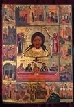 Икона Спас Нерукотворный с клеймами, фото №2