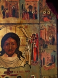 Икона Спас Нерукотворный с клеймами, фото №4