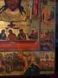 Икона Спас Нерукотворный с клеймами, фото №5