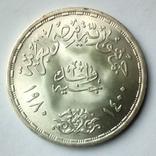 Египет 1 фунт 1980 г. - День доктора, фото №5