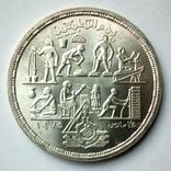 Египет 1 фунт 1980 г. - Прикладные профессии, фото №2