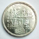 Египет 1 фунт 1980 г. - Прикладные профессии, фото №4