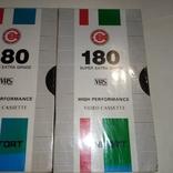Видеокассеты 4 шт. Запечатаны, фото №3