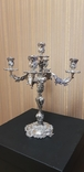 Канделябр,подсвечник серебро 925 проба.PAMPALONI., фото №2