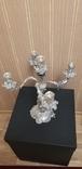 Канделябр,подсвечник серебро 925 проба.PAMPALONI., фото №10