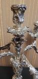 Канделябр,подсвечник серебро 925 проба.PAMPALONI., фото №11