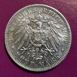 5 марок Вюртемберга 1902 г., фото №2