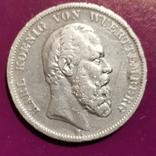 5 марок Вюртемберга 1876 г., фото №2