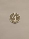 Норвегия 50 крон 1991 года серебро 16,81 грамм 925 проба, фото №5
