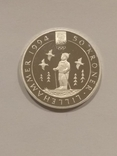 Норвегия 50 крон 1991 года серебро 16,81 грамм 925 проба, фото №6