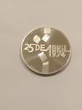 Португалия 100 эскудо  1976 года серебро 18 грамм, 650 проба, фото №2