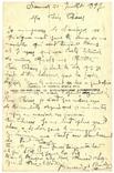 Открытка Хорошая мысль 1917 год Первая мировая война Франция, фото №3