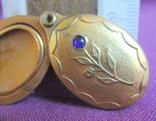 Кулон - подвеска Цветок под фотографию позолоченный., фото №12