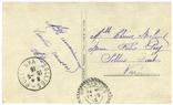 Открытка Очаровательный сувенир1915 год  Первая мировая война Франция, фото №3